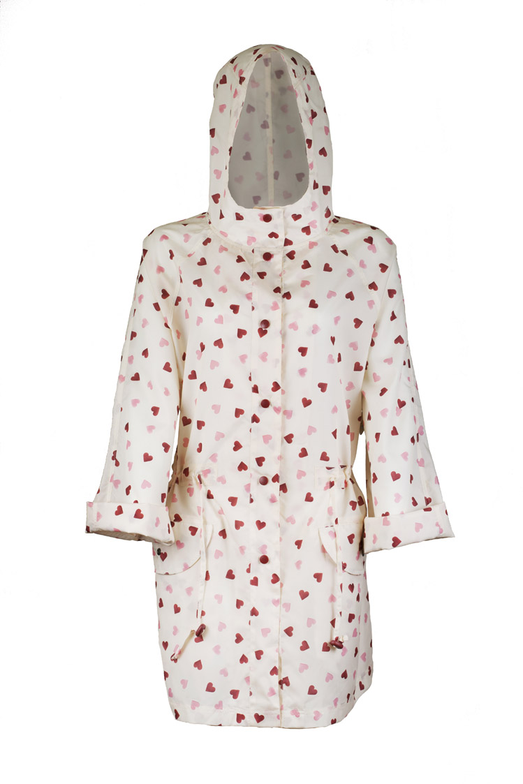 Emma Bridgewater - Heart - Rain Coat