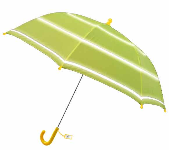 Child-Safe Hi-Viz Umbrella - Yellow