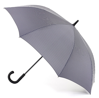 Fulton Umbrella - Knightsbridge City Stripe - Grey