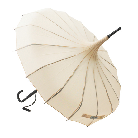 Lisbeth Dahl Wedding Pagoda Umbrella - Ivory