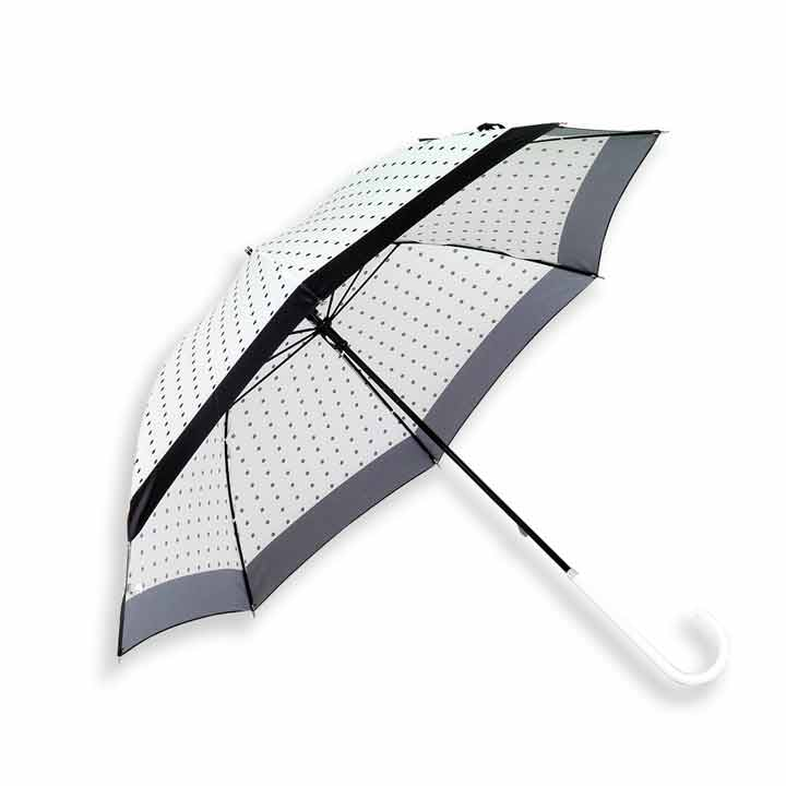 Lottie - Ladies Slim Umbrella - Off White