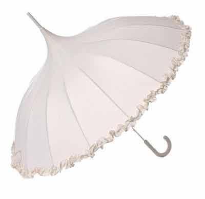 Luxury Wedding Cards on Luxury Wedding Pagoda   Cream   Umbrellas At Umbrella Heaven