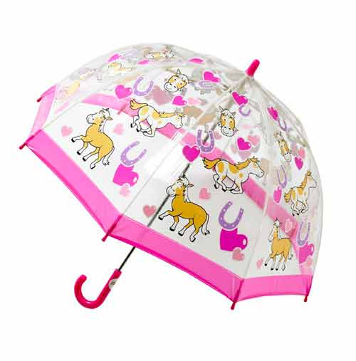 Childrens PVC Umbrella - Pony