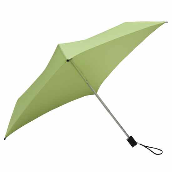 Square Compact Umbrella - Soft Green
