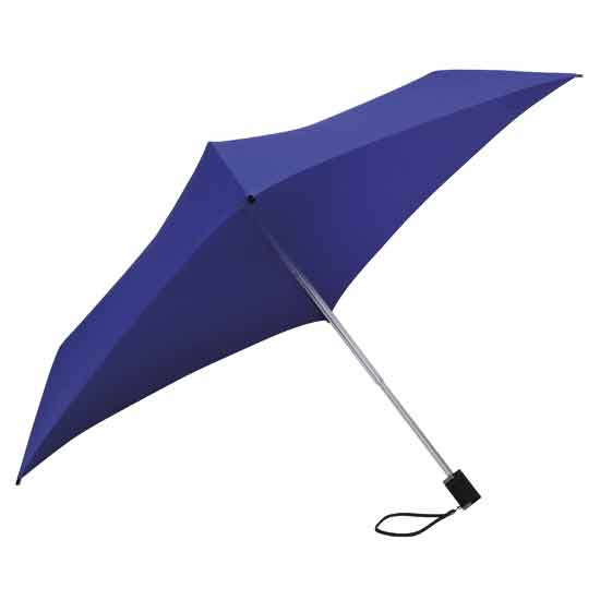 Square Compact Umbrella - Purple