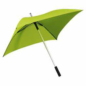 The Square Long Umbrella - Green