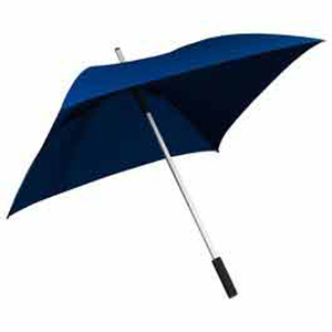 The Square Long Umbrella - Dark Blue