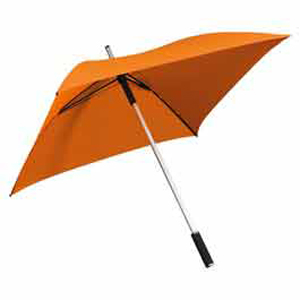The Square Long Umbrella - Orange