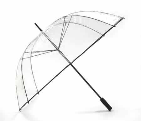 Vision Extreme Clear Golf Umbrella