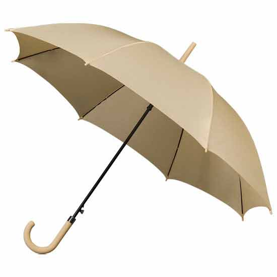 Ladies Walking Umbrella - Beige