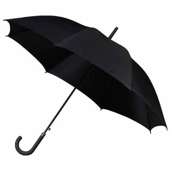 Ladies Walking Umbrella - Black