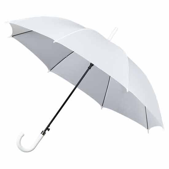 Ladies Walking Umbrella - White