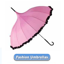 Fashion umbrellas with loads of Style! Click here to view our selection of quality Fashion umbrellas.