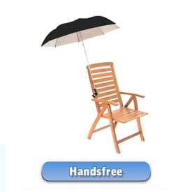 Hands Free Umbrellas
