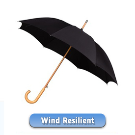 Take a look at our senzational windproof umbrellas - in the world of strong umbrellas ... they rock!