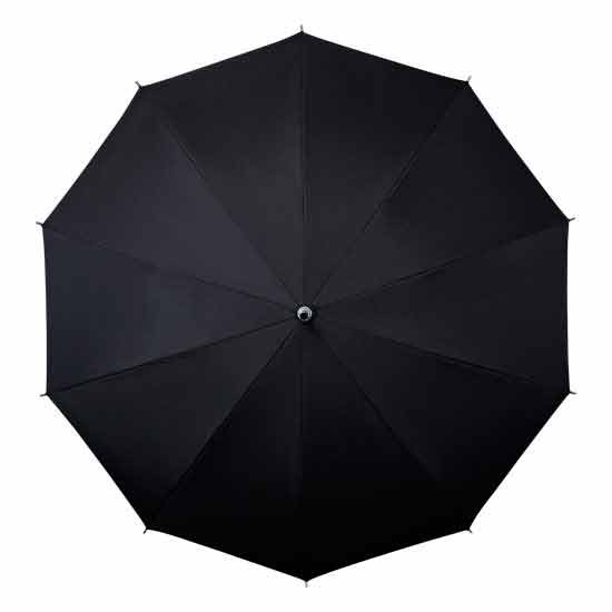 These lightweight and windproof hands free umbrellas are available in Black