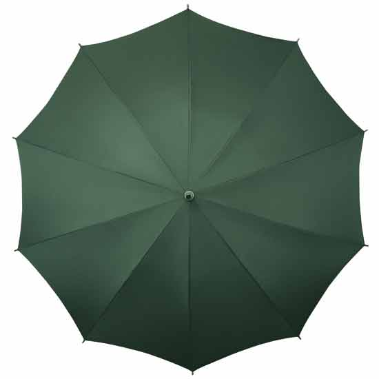 These quality hands free umbrellas are also available in Green