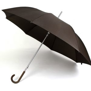 Hellin - VOGUE Gents Automatic Windproof Walking Umbrella - Black