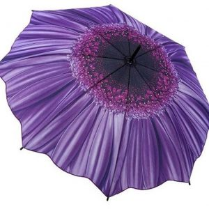 Purple Daisy - Full Length Umbrella