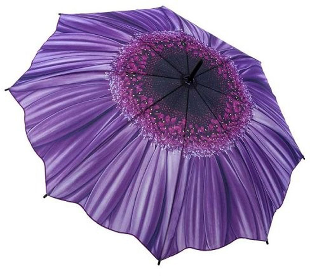 Purple flower umbrella full length daisy umbrella umbrella heaven purple flower umbrella izmirmasajfo