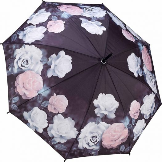 Antique Umbrella / Rose Full Length Ladies Umbrella