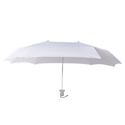 Duo Twin Compact Umbrella Covers Two - White