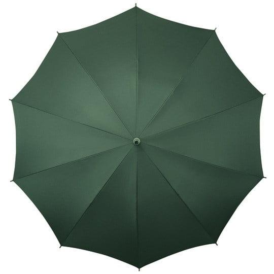 shoulder strap umbrella green open