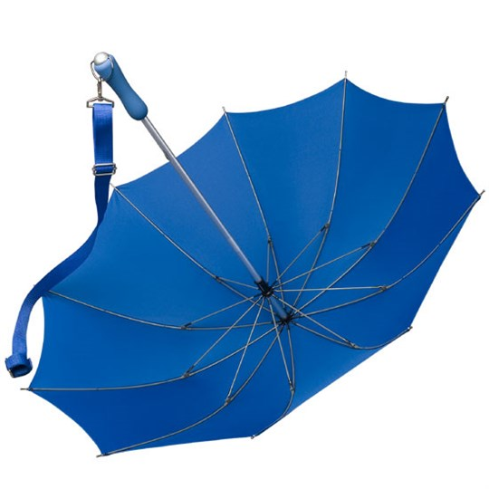 shoulder strap blue open