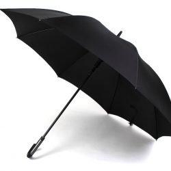 Vigo VOGUE - Square Crook Handle Large Walking Style Umbrella