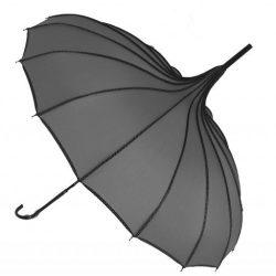 Grey Pagoda Umbrella - Princess