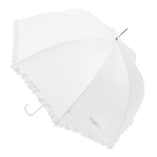 Arianne - Frilled Bridal Umbrella