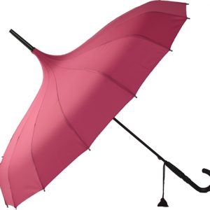 Oriental Pagoda Umbrella Pink