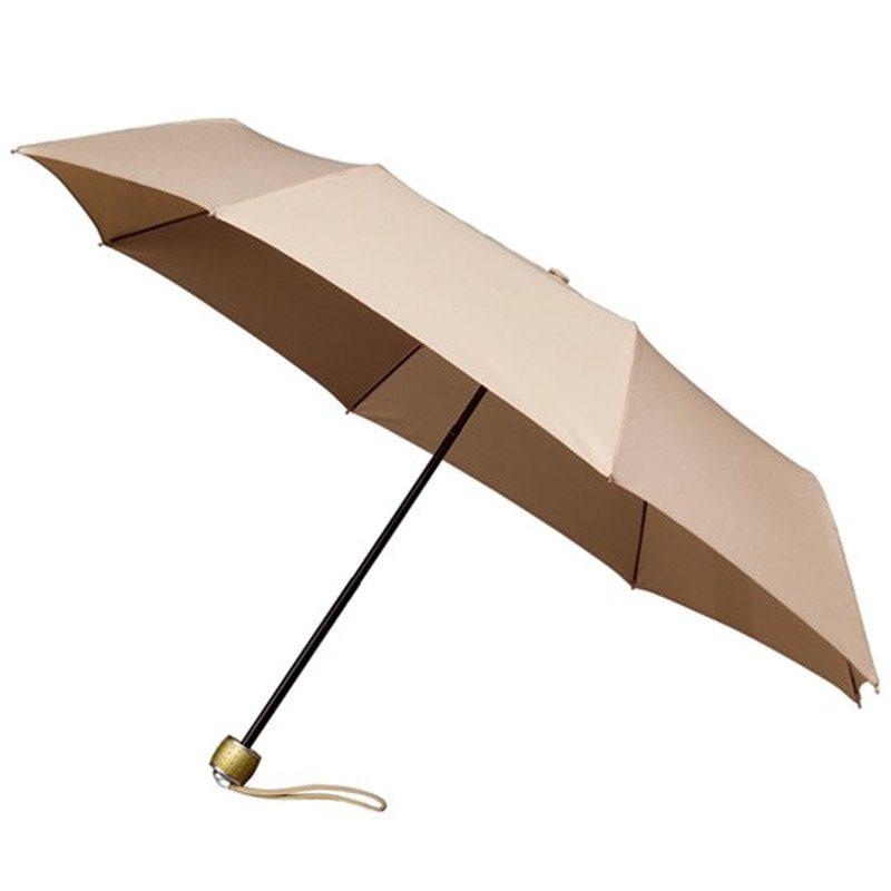 MiniMax - Folding Umbrella / Beige Travel Umbrella