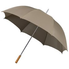 Budget Golf Beige Umbrella