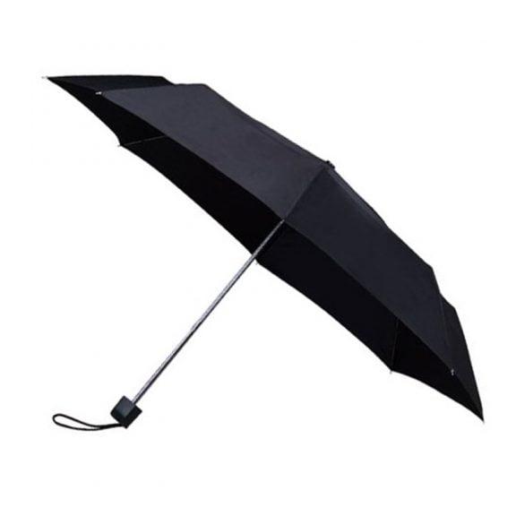 Colourbox Black Compact Umbrella