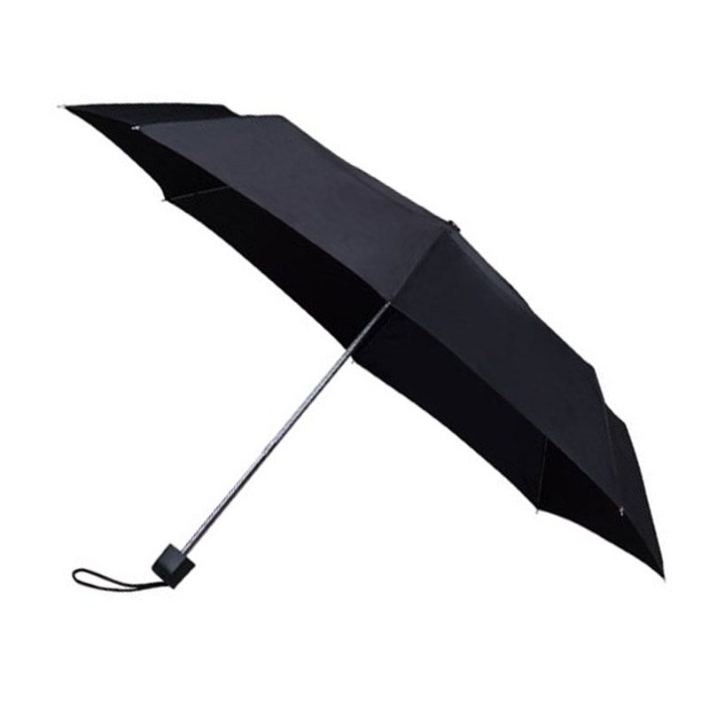 Colourbox Black Compact Umbrella