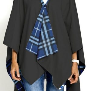 Black and Blue Plaid RAINRAP