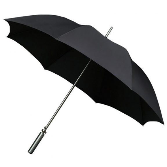 Aluminium Black Sports Golf Large Automatic Umbrella