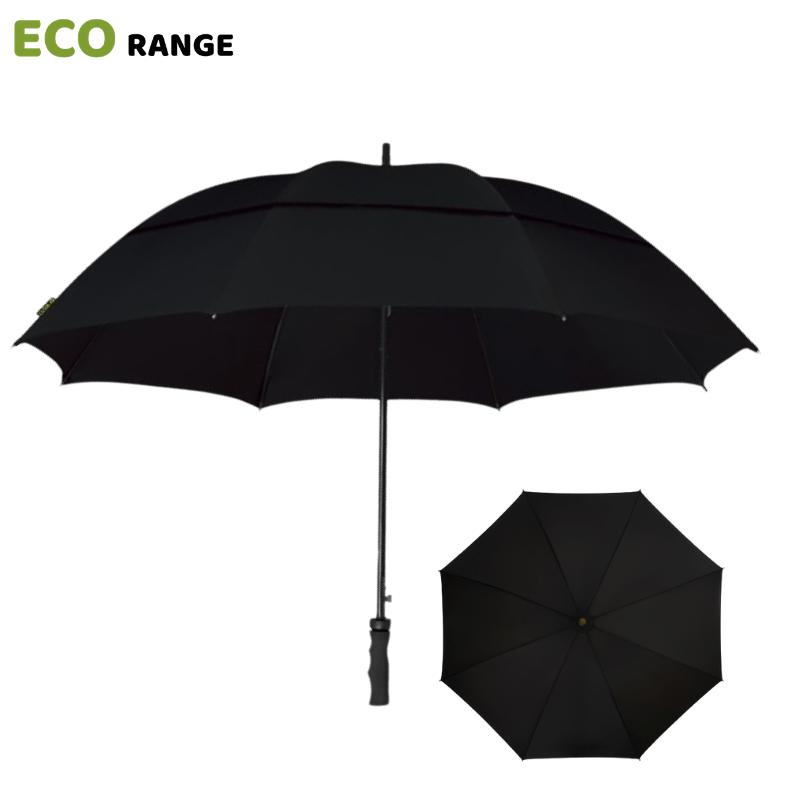 Black Eco Golf Umbrella