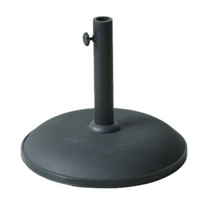 Concrete Garden Parasol Base 15kg - choice of colours