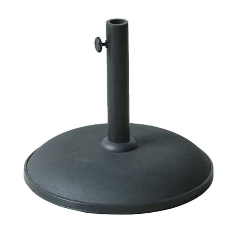 Concrete Parasol Base 15kg - choice of colours