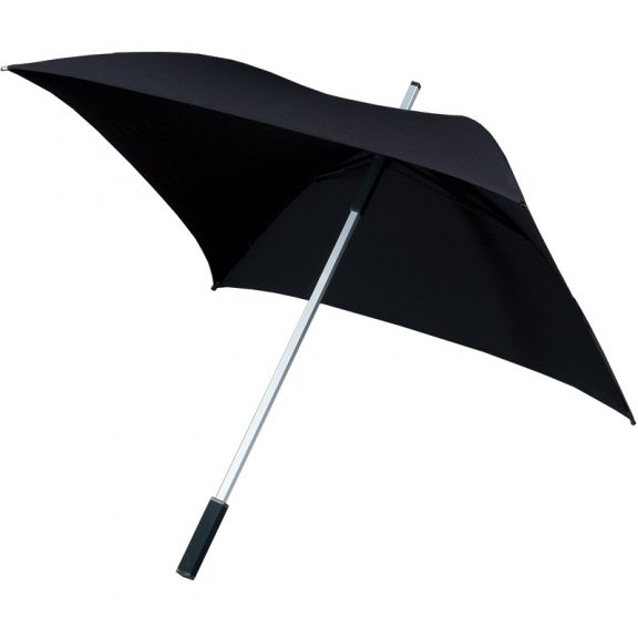 Square Golf Umbrella - Black