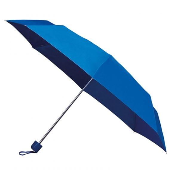 small blue umbrella