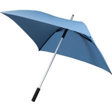blue square umbrella