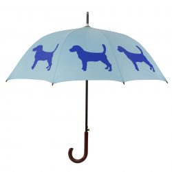 Beagle Dog Umbrella - Blue