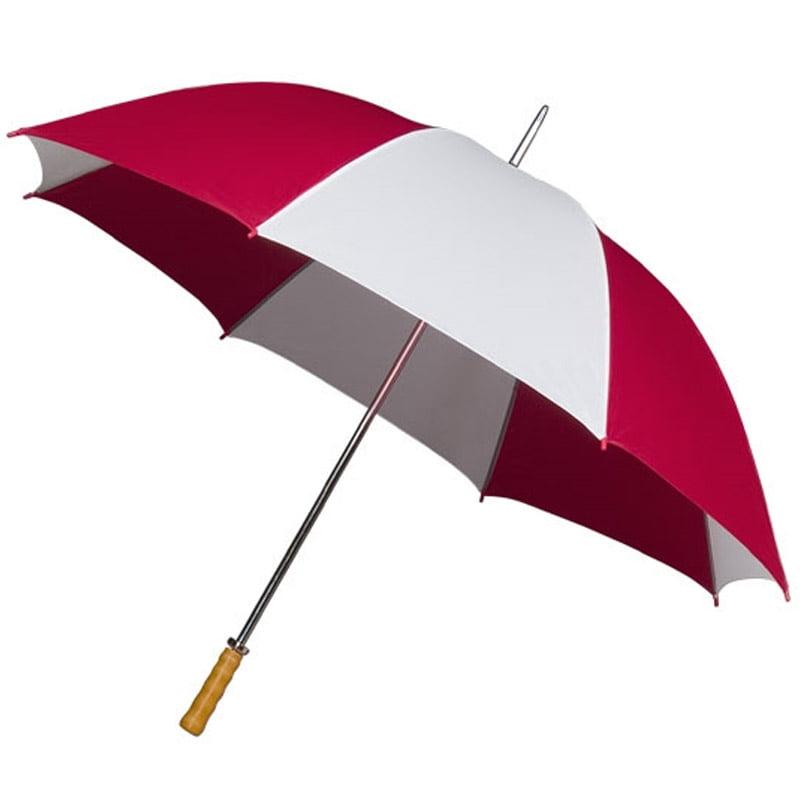 Budget Golf Umbrella - Red and White