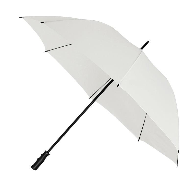 White Budget Wedding Umbrella