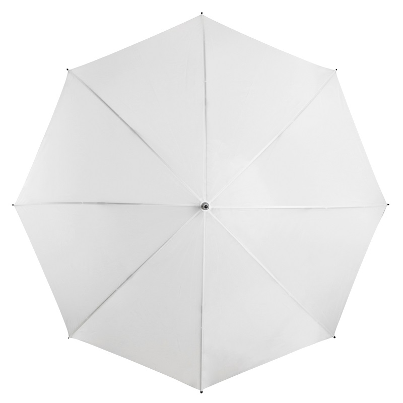 White Budget Wedding Umbrella top