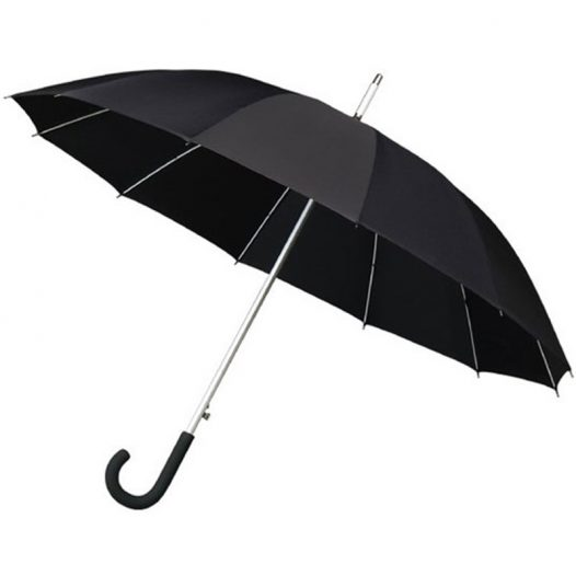 Black walker umbrella