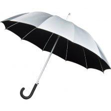 Silver UV proof umbrella - Cambridge Walker Umbrella